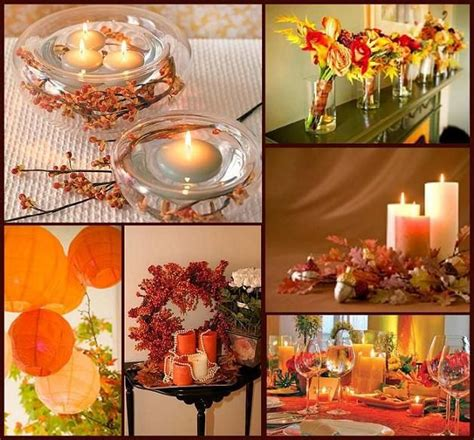Fall table decorations Fall Ideas Pinterest