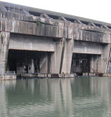 German U Boat Pens Brest by La Base Sous Marine The Ghostly Ww2 U Boat Pen Bordeaux