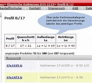 Keilriemen Berechnen : willkommen ~ Themetempest.com Abrechnung