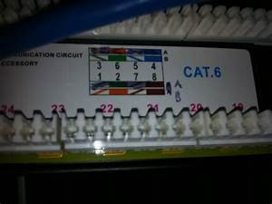 Help Wiring Monoprice Cat6 Patch Panel