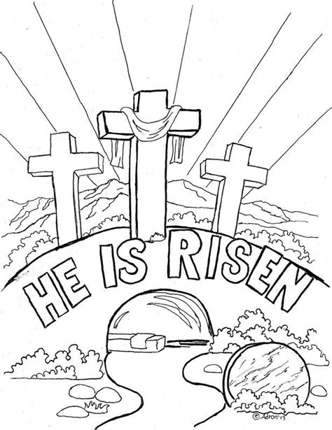 christian easter coloring pages christian easter