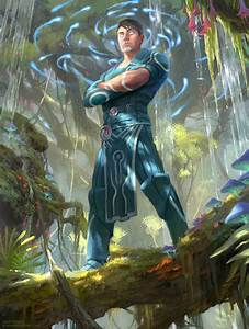 Jace, Ingenious Mind Mage - MTG by ClintCearley on DeviantArt