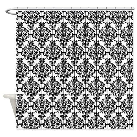 damask shower curtain black and white damask shower curtain by cheriverymery