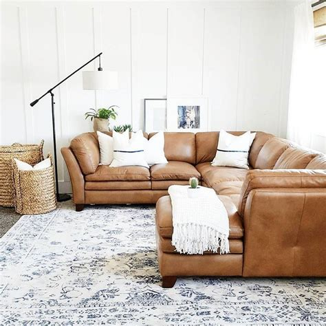 Brown Sofa And Rug In 25 Best Ideas About Leather Sofa On