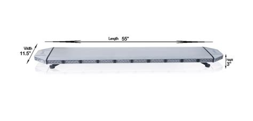55 quot saber tir light bars 2 0 led outfitters led lights