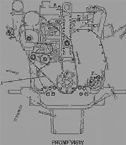 33 Cat C13 Serpentine Belt Diagram