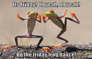 Its Friday Happy Dance