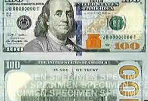 100 Dollar Bill Front Actual Size