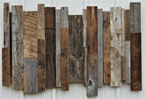 Reclaimed pallet wood was used to make these wall flower vases. 20 Ideas of Reclaimed Wood Wall Art