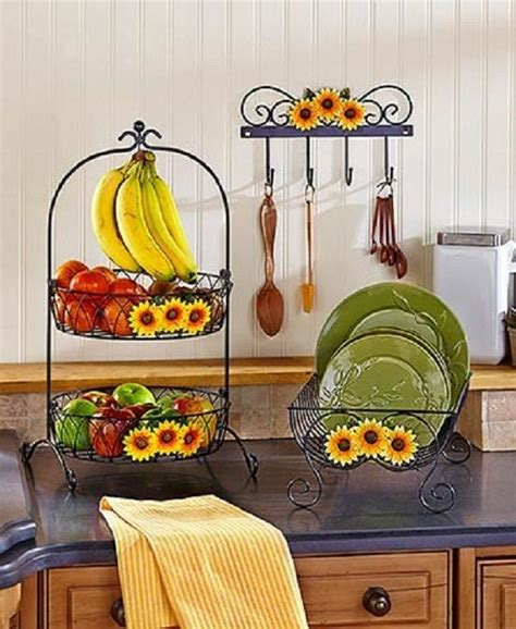 sunflower country kitchen decor collection iron farmhouse