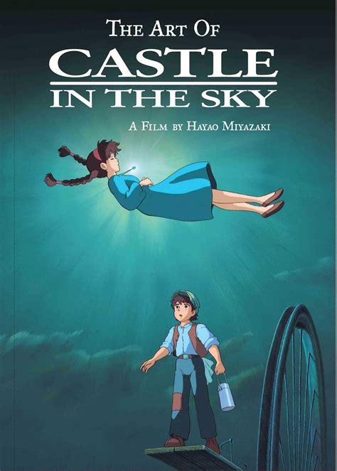 art  castle   sky book  hayao miyazaki