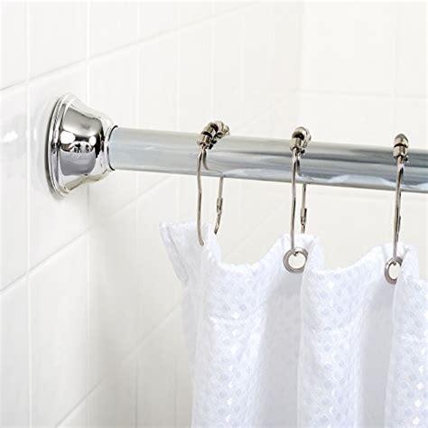 best zenna home 771ss tension bathroom shower curtain rod