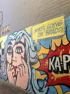 Dulwich Hill pop art graffiti
