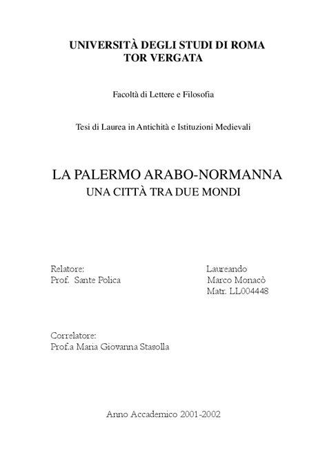 universit 192 degli studi di roma tor vergata facolt 224 di