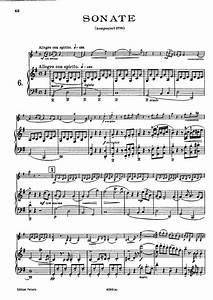 Violin Sonata in G major, K.301/293a (Mozart, Wolfgang ...