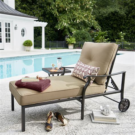 grand resort outdoor furniture replacement cushions grand resort villa park cushion chaise limited availability