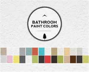 bathroom color ideas 2014 bathroom color ideas palette and paint schemes home tree atlas