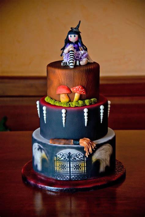 tutorial torta  halloween  la bambola gorjuss