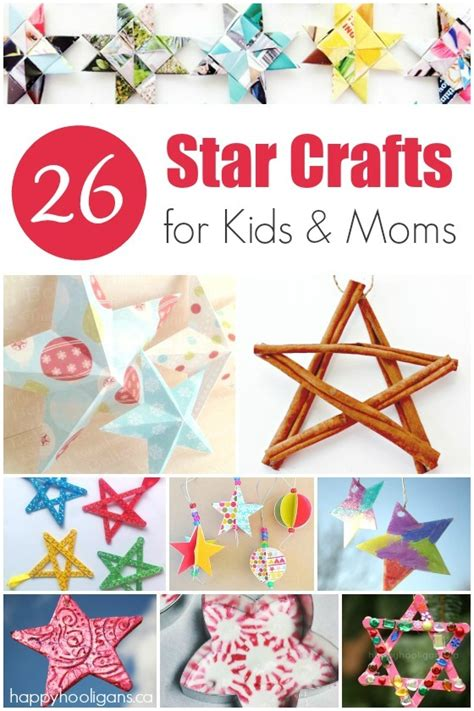 gorgeous ornaments to make happy hooligans 810 | 26 Star crafts for kids and moms to make