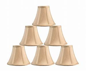 Urbanest chandelier mini lamp shade softback bell silk