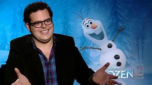 The 'Voice of Olaf' Josh Gad talks Frozen and upcoming ...