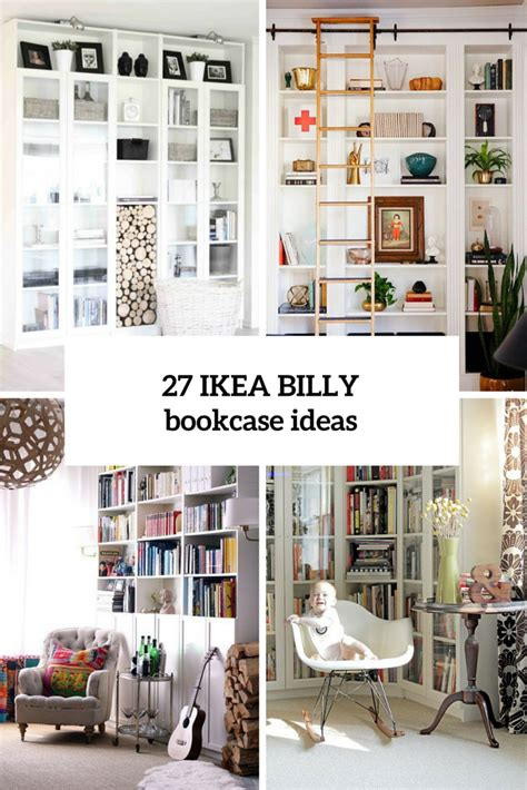bureau billy ikea 27 awesome ikea billy bookcases ideas for your home