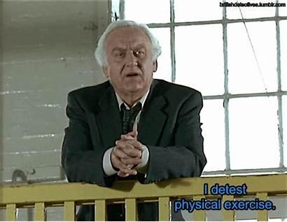 John Morse Michael Detest Physical Exercise