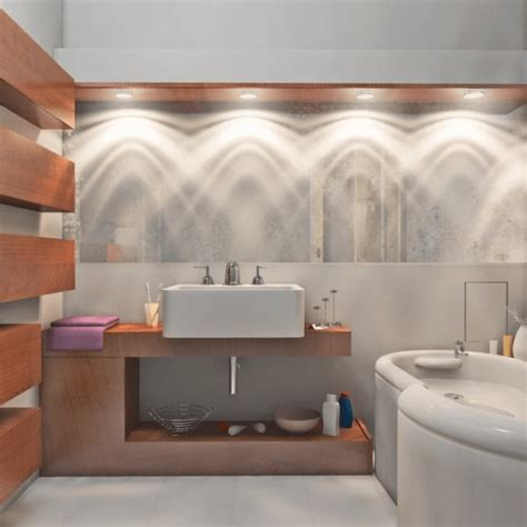 unique bathroom lighting ideas  rule breakers