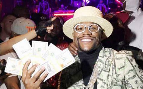 money fight mayweather earned  usd