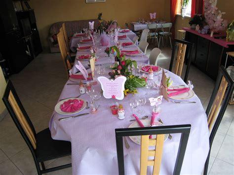 decoration de table theme papillon