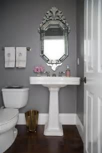 Kohler Memoirs Pedestal Sink by Ask Studio Mcgee Gray Paint Studio Mcgee