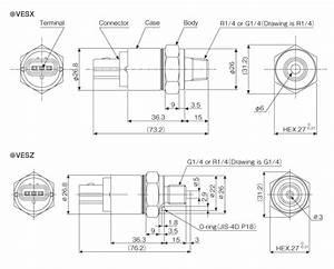 Miniature Low Pressure Transmitter Vesx  Vesz Series