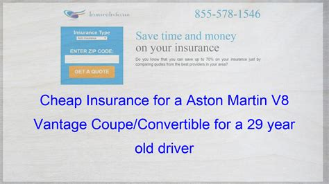 List of car insurance companies in florida How to get Cheap Car Insurance for a Aston Martin V8 Vantage Coupe/Convertible Base Co… (With ...