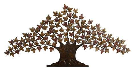 new lone tree metal wall art decor sculpture 24 x48 ebay