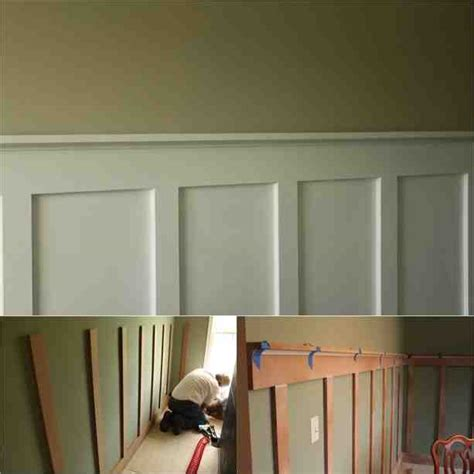 easy diy board  battenwainscoting   budget