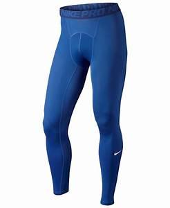 Nike Menu0026#39;s Pro Dri-fit Compression Performance Leggings in ...