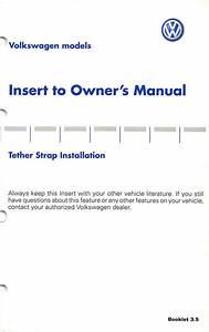 2003 Volkswagen Passat Owners Manual In Pdf