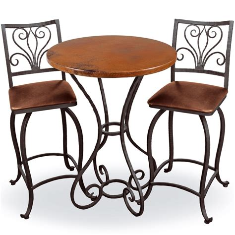 dining table with stools antique wrought iron square seat bar stools combined round