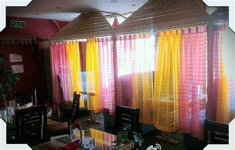 Chiffon Curtains India by New Curtains Punjabi Indian Restaurant Cultural