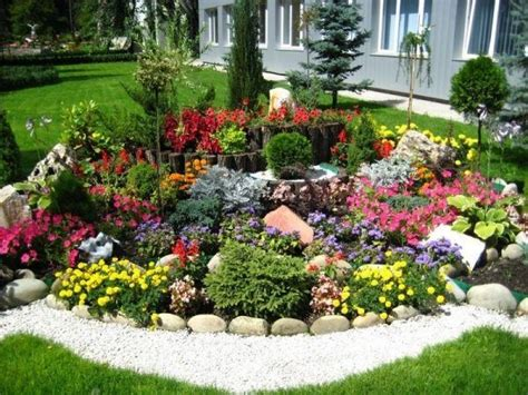 steinbeet gestaltung bilder pflanzen f 252 r steingarten ein harmonisches gesamtbild 228 sthetische gestaltung vorgarten oder