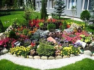 Blumen Für Steingarten : pflanzen f r steingarten ein harmonisches gesamtbild sthetische gestaltung vorgarten oder ~ Markanthonyermac.com Haus und Dekorationen