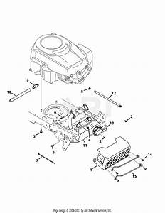 Troy Bilt 13yx79kt011 Horse Xp  2015  Parts Diagram For