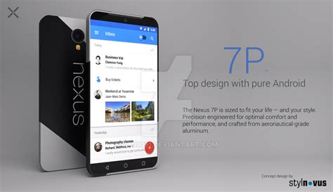 new nexus phone nexus 7p concept is somewhere between a phone and tablet