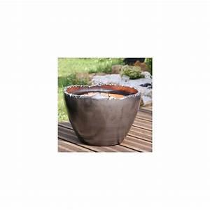 Pot En Terre Cuite émaillée : pot en terre cuite emaill e croquis metal d32 h23 ~ Dailycaller-alerts.com Idées de Décoration