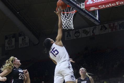 uconn womens basketball drops iup  exhibition win