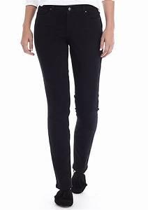 Crown Ivy Size Chart Crown Ivy Cigarette Black Short Skinny Jeans Belk