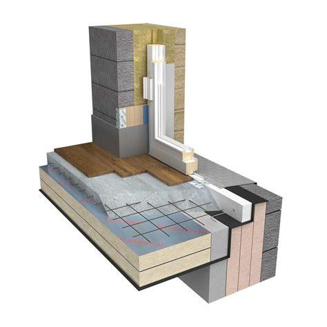 compacfoam  rigid insulation  reducing thermal bridges green building store