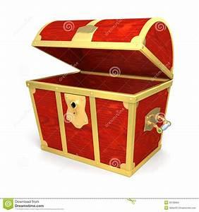 Cofre del tesoro de madera stock de ilustración Ilustración de vacío 29138894