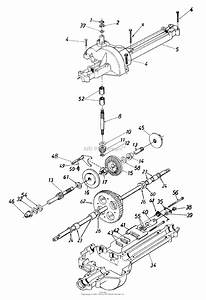 Mtd 13ah660f000  2000  Parts Diagram For Transmission Assembly