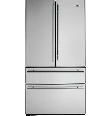 zfgbhyss ge monogram  cu ft french door  drawer  standing refrigerator